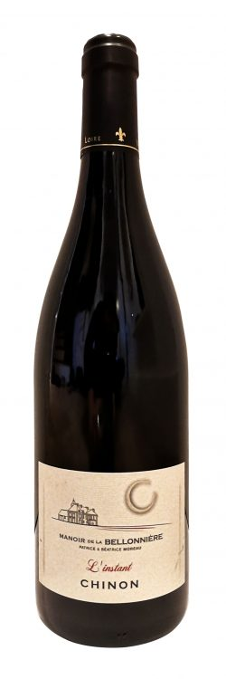 bouteille de vins rouge, L'Instant du Manoir de la Bellonnière